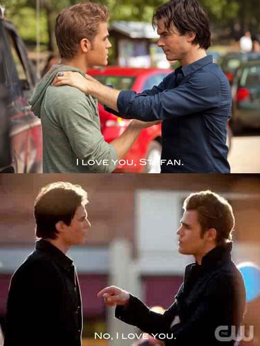 Bromance of Damon & Stefan