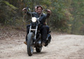 Carol & Daryl on his motorcycle - daryl-and-carol photo