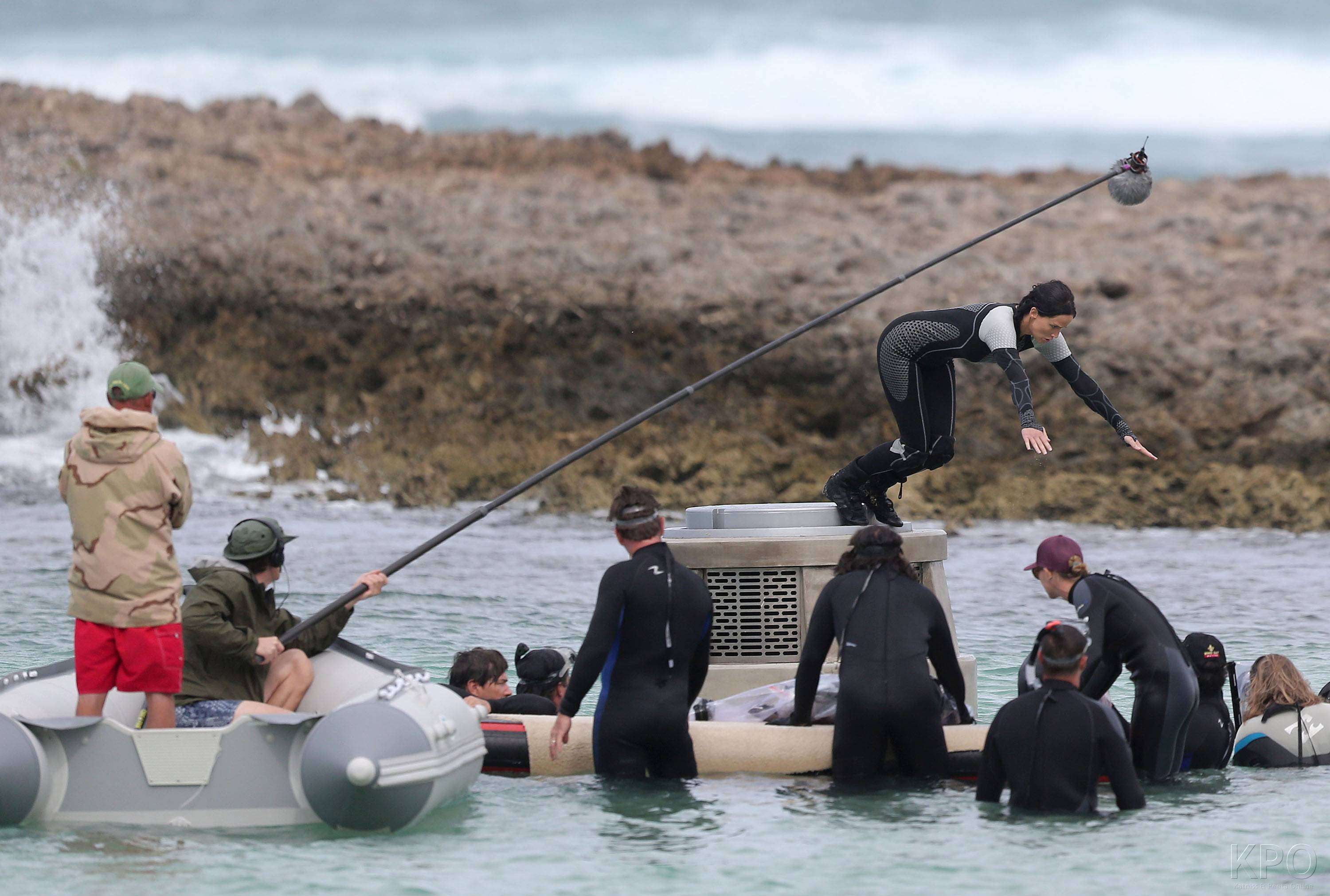 Catching 火, 消防 shooting in Hawaii