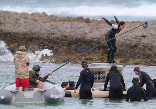 Catching আগুন shooting in Hawaii