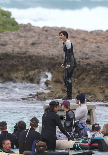 Catching 불, 화재 shooting in Hawaii