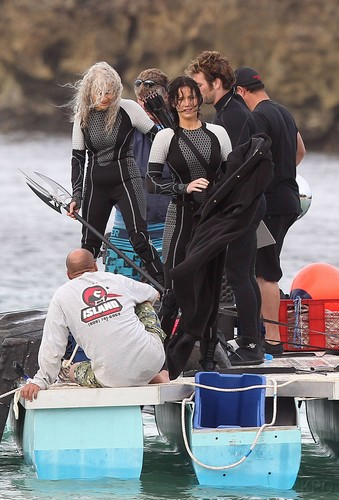 Catching Fire shooting in Hawaii
