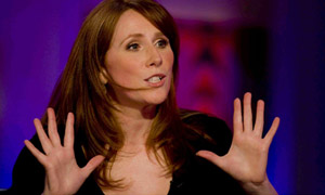 Ginger Heads wallpaper containing a portrait entitled Catherine Tate