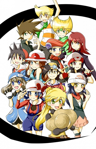 Anime Characters As Pokemon : Characters pok�mon adventures fan art  fanpop