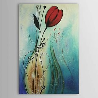 Fine Art wallpaper entitled Charming Flower Oil Painting Free Shipping
