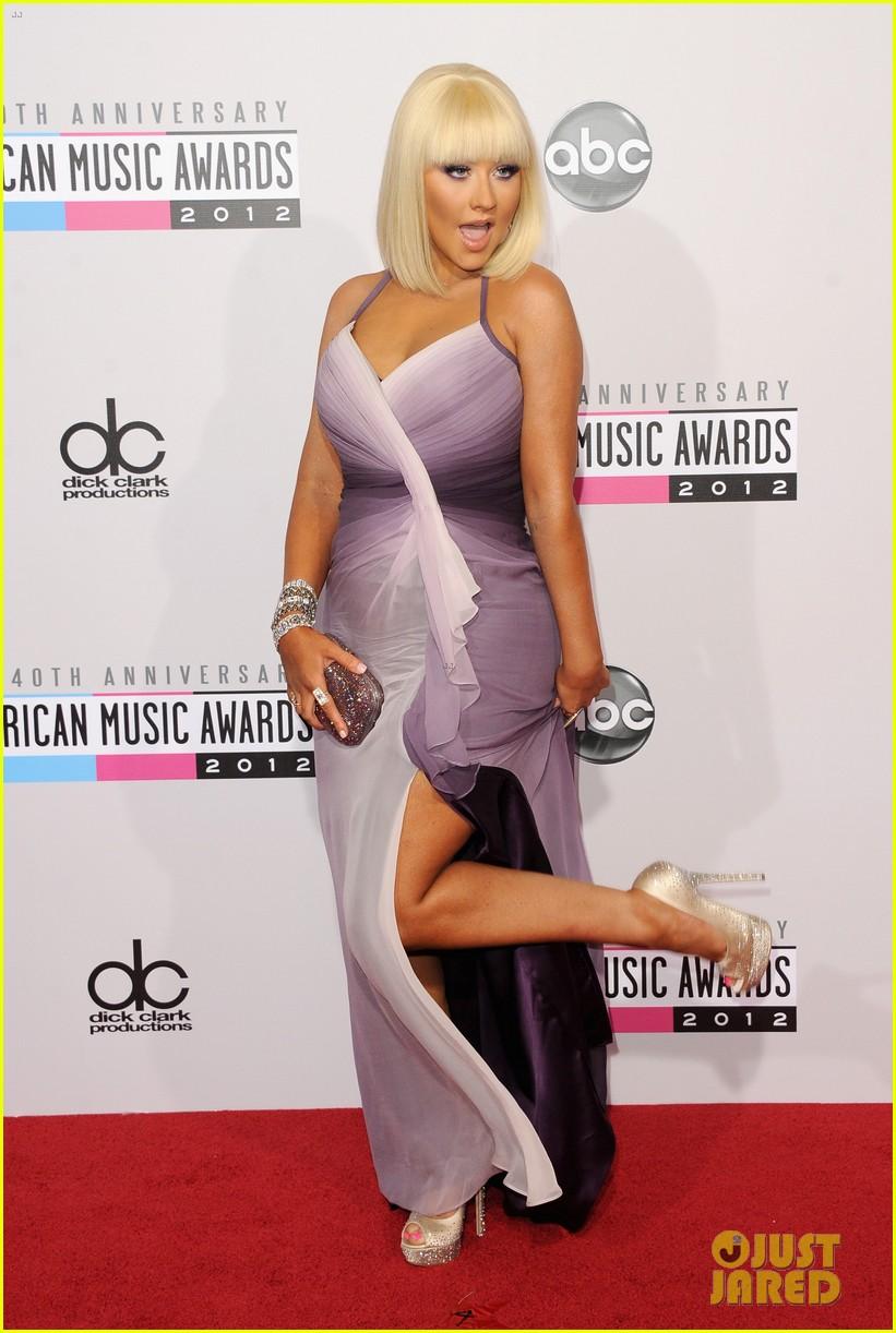 Christina Aguilera AMA s  chri