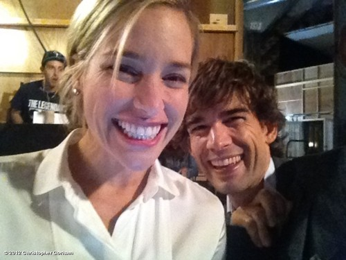 Christopher Gorham's Behind The Scenes Photos