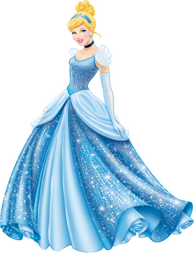 Disney Princess پیپر وال called Walt Disney تصاویر - Cinderella (New Look)