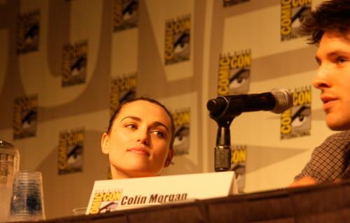 Colin and Katie Comic Con 2012 Panel