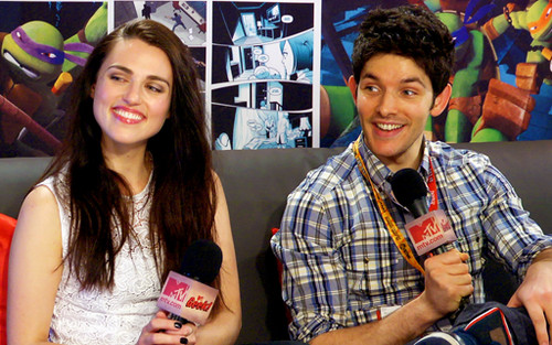 Colin and Katie MTV Geek interview