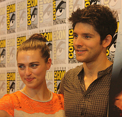 Colin and Katie at Comic Con 2012