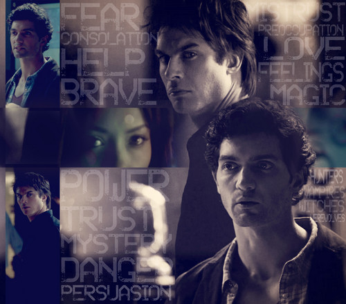 Damon&Bonnie&Shane