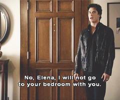 Damon..being Damon