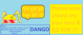 Dango cheerleader GO FOR IT-clannad-fan art - anime fan art