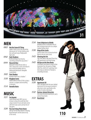 Daniel - Magazine Scans - Fault Magazine 2012