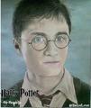 Daniel Radcliffe-Harry Potter Drawing - daniel-radcliffe-and-emma-watson fan art