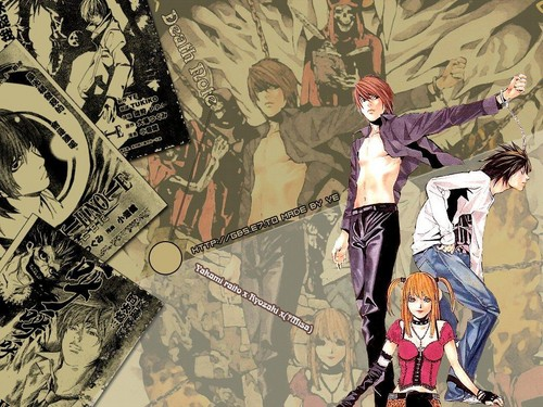 Death Note achtergrond probably with anime entitled Death Note