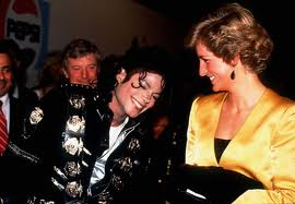 Diana And Michael Backstage Back In 1988