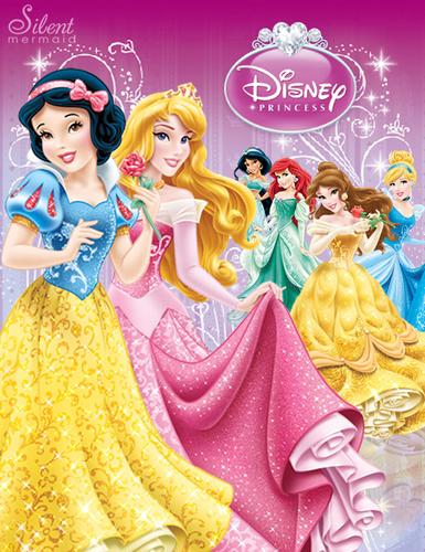 ディズニー Princesses - The New デザイン