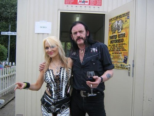 Doro with Lemmy Kilmister (Motorhead)