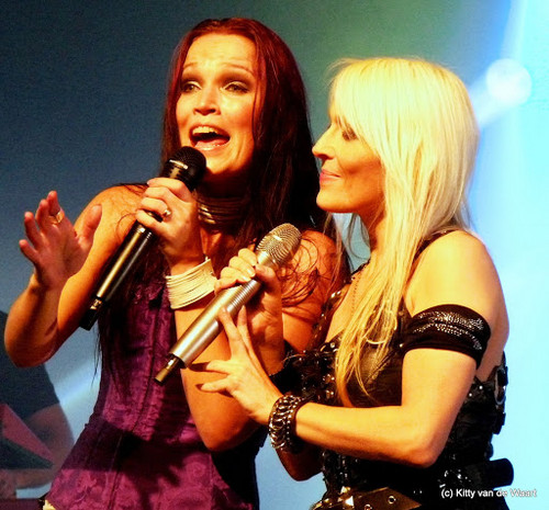 Doro with Tarja Turunen (ex-Nightwish)