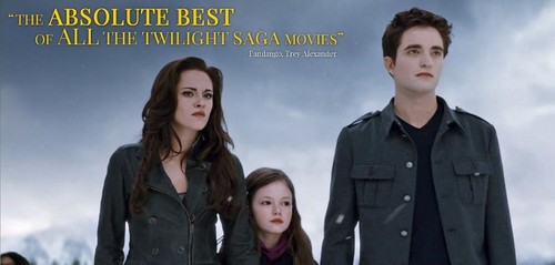 Edward , Bella and Renesme