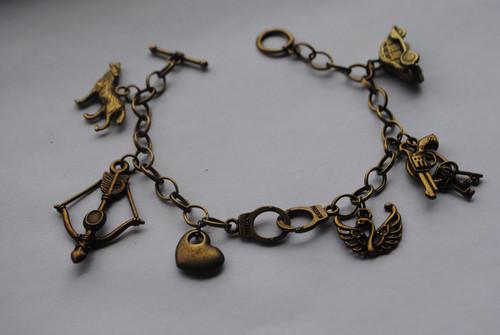 Emma and Graham themed charm bracelet