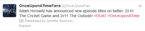 Once Upon A Time fond d'écran called Episode Titles