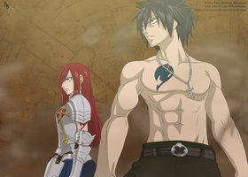 Erza and Gray to the rescue