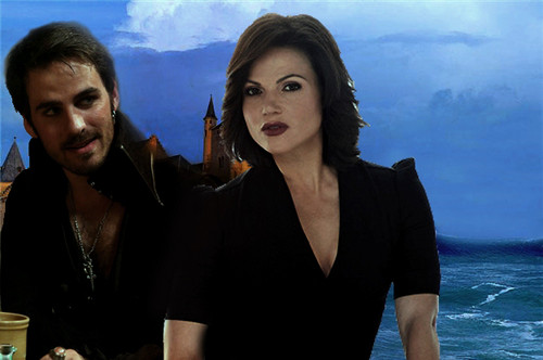Evil Queen and Captain Hook
