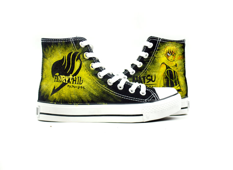 Fairy Tail, Fire Dragon Slayer Natsu Dragneel shoes