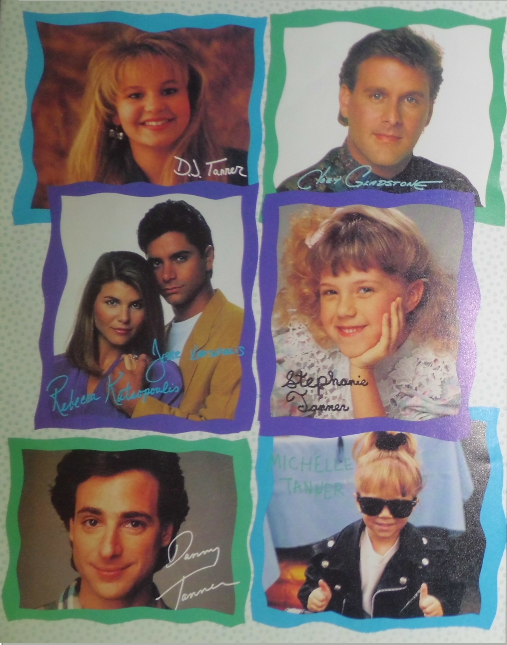 Full house characters names the image for Fully house