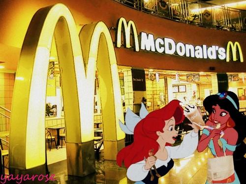 Fun at McDonald's
