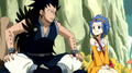 Gajeel R. and Levy M. (Fairy Tail)
