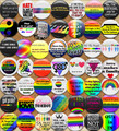 Gay Rights Buttons - gay-rights photo
