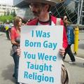 Gay Rights Protester - gay-rights photo