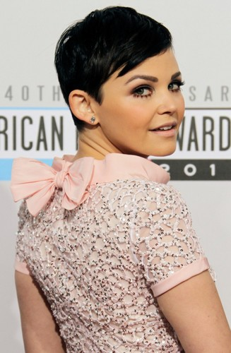 Ginnifer Goodwin in Oscar de la Renta Resort at the 2012 American संगीत Awards