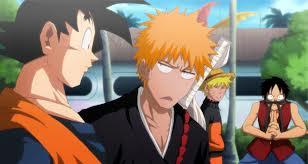 Goke and Vegeta And Tomoya