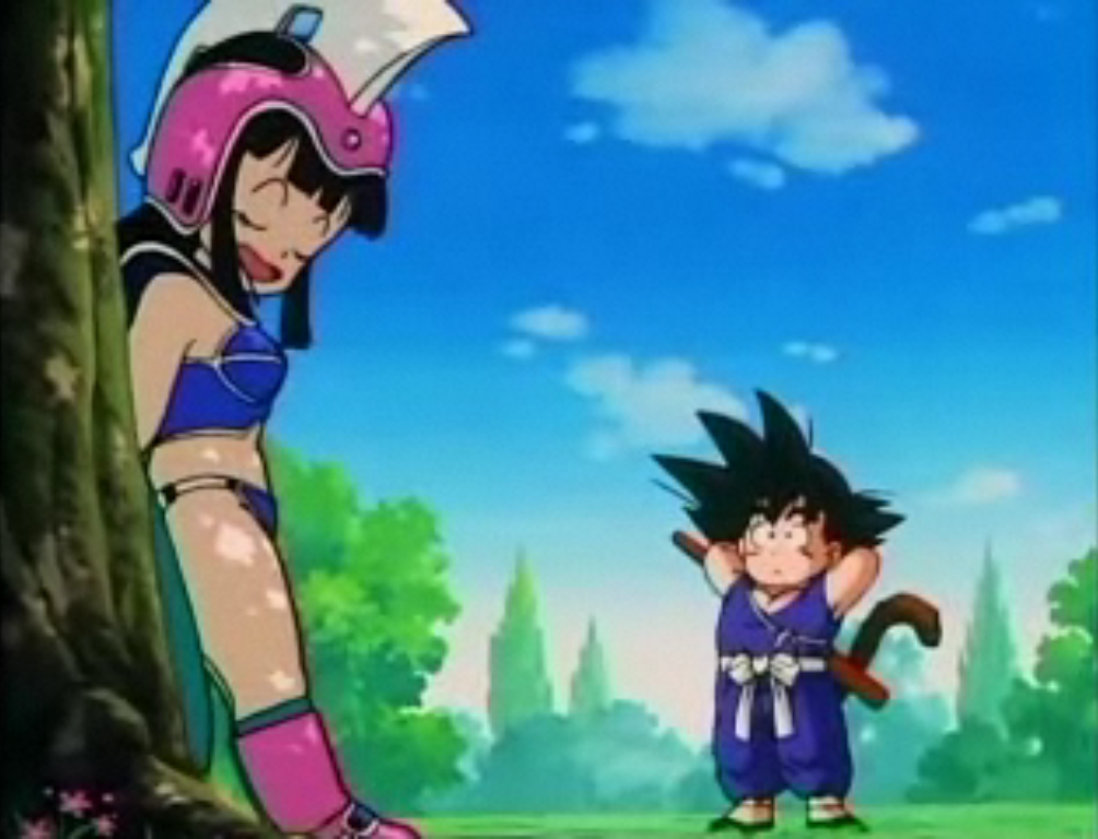 Dragon Ball Females Goku X Chichi - First Date