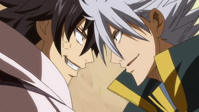 Gray F. and Lyon B. (Fairy Tail)