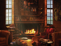 Gryffindor common room - pottermore wallpaper