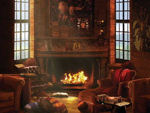 Pottermore wallpaper entitled Gryffindor common room