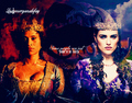 Gwen and Morgana - merlin-on-bbc fan art