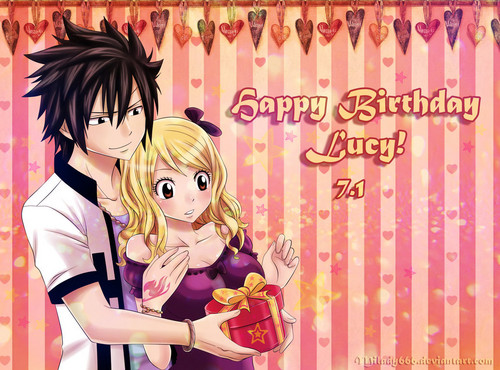 Happy Birthday Lucy da ~Milady666
