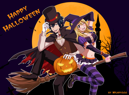 Happy Halloween _ GrayLu by ~Milady666