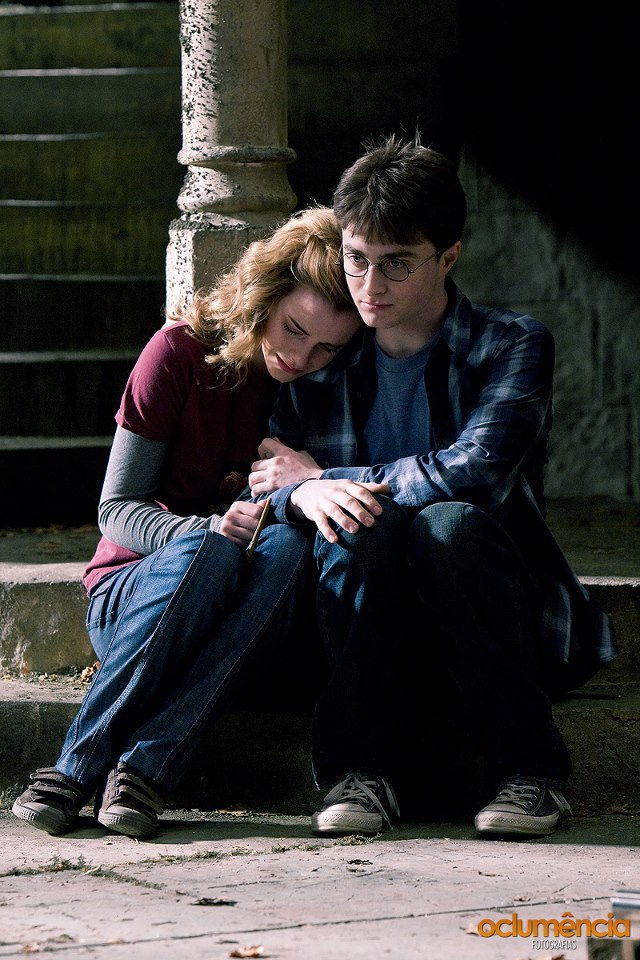 Harry, Ron and Hermione images Harry & Hermione HD ...