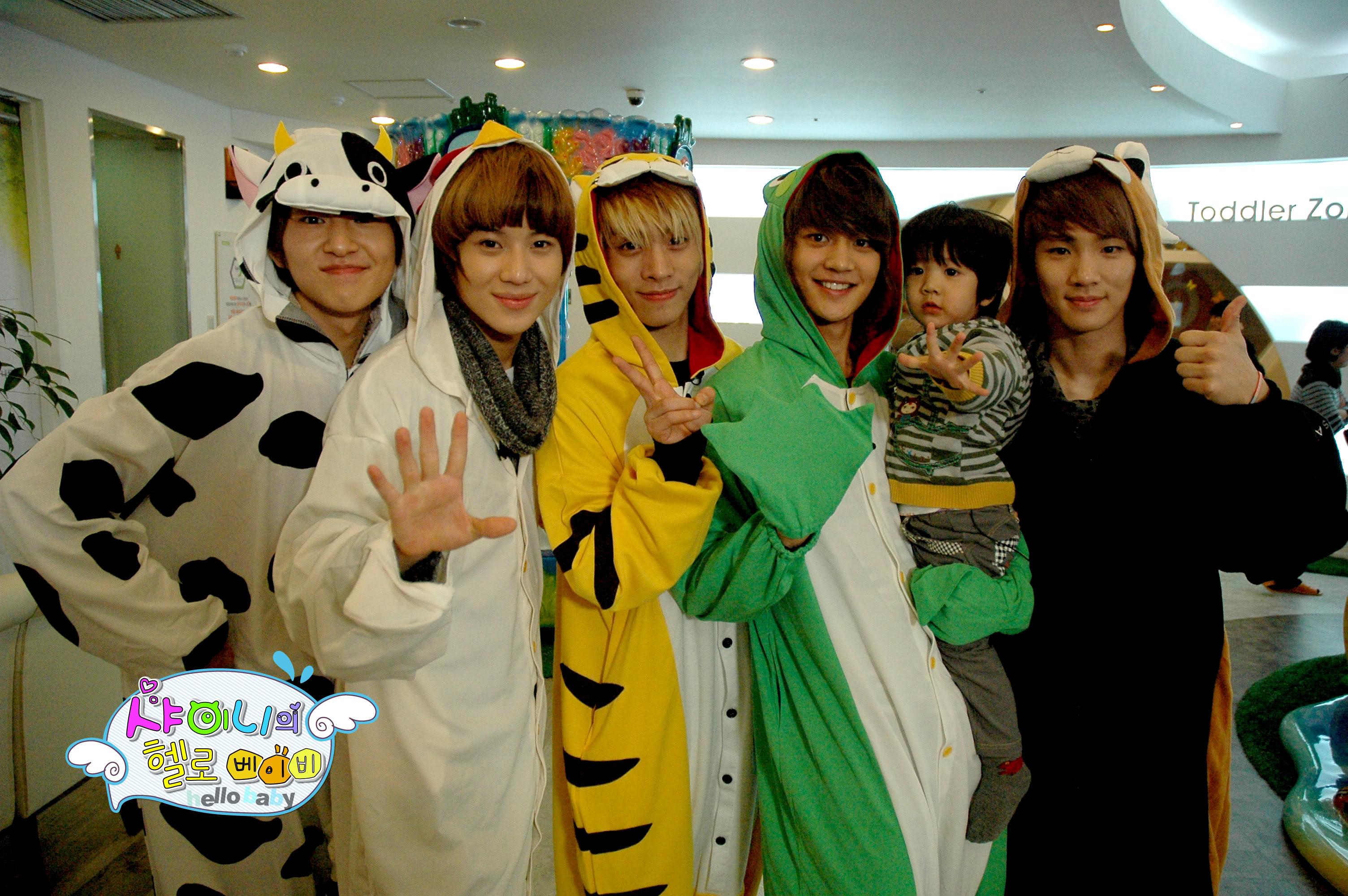 Nima9 Hello Baby-SHInee  Shinee Baby Pictures