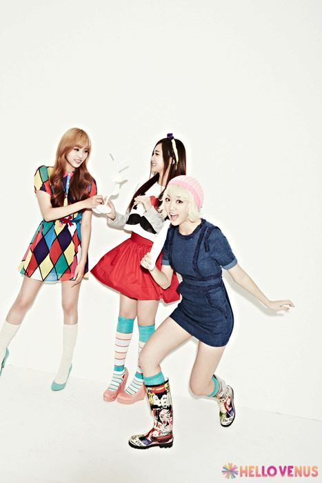 "Hellovenus 2nd mini album ""What are you doing today"""