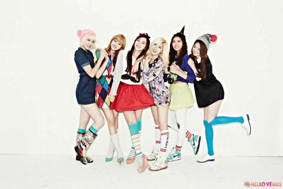 Hello venus hellovenus 2nd mini album what are you doing today