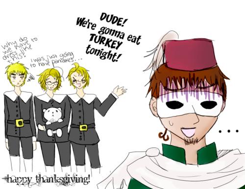 Hetalia Thanksgiving